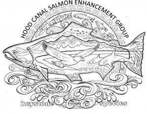 Salmon Keystone Species Coloring Pages